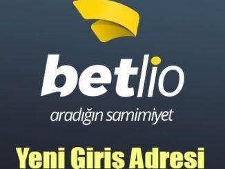 Betlio Yeni Giriş Adresi