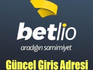 Betlio Güncel Giriş Adresi